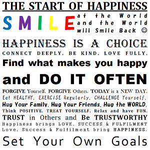 The 43 Habits of Absolutely Happy People – AKA the Happiness Manifesto - The Start of Happiness