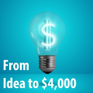 How I Went From Idea to $4,000 in 6 Weeks