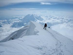 Hiking Snow Mountain