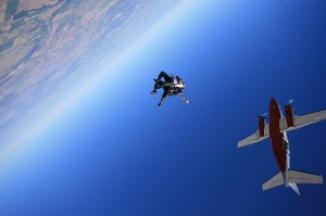 Jumping From a Plane