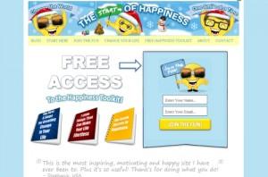 Start of Happiness Website