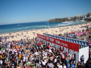 City to Surf Finish