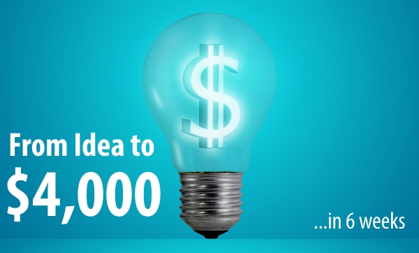 From Idea to $4000
